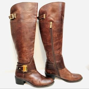 Vince Camuto Tall Harness Riding Boots